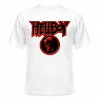Футболка HELLBOY RED LOGO