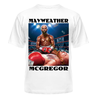 Футболка Mayweather vs Mcgregor