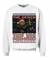 Свитшот The Grinch that was promised
