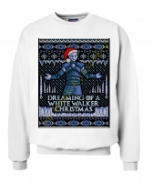 Свитшот Dreaming of a white walker Christmas