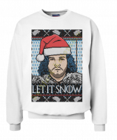 Свитшот Let it Snow