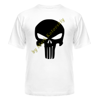 Футболка Punisher logo