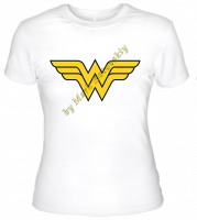 Футболка Wonder Woman logo
